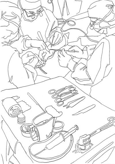 drawings surgery 2008 image 10 matthias beckmann Surgery Articles image 10 surgery 2008 graphite on paper matthias beckmann